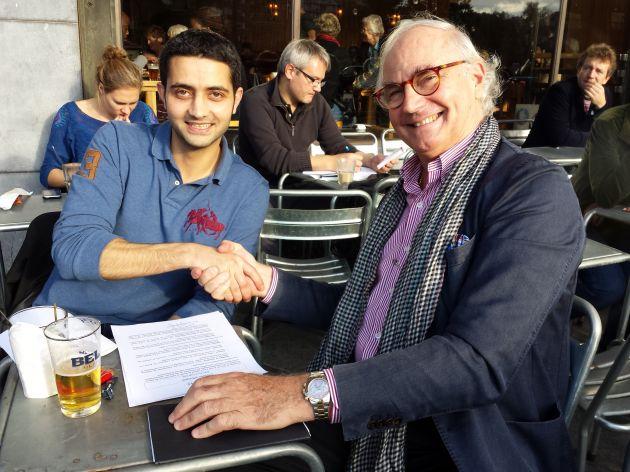 Jacques et Talal, un des duo de Duo for a job