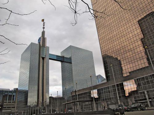 Le SPP Intégration sociale, logé dans une des tours du WTC, près de la gare du Nord, est amené à disparaître. © Flickrcc Emma Patsie