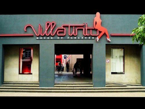 La Villa Tinto, à Anvers, une manière de gérer et de contrôler la prostitution. © Flickrcc Amaury Henderick