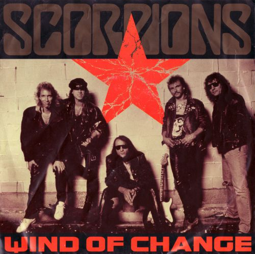 Scorpions - Wind Of Change - Front (1-2)