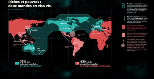 © Nicolas Lambert Module 1 – Avant la frontière, « Riches et Pauvres, deux monde en visa vis»