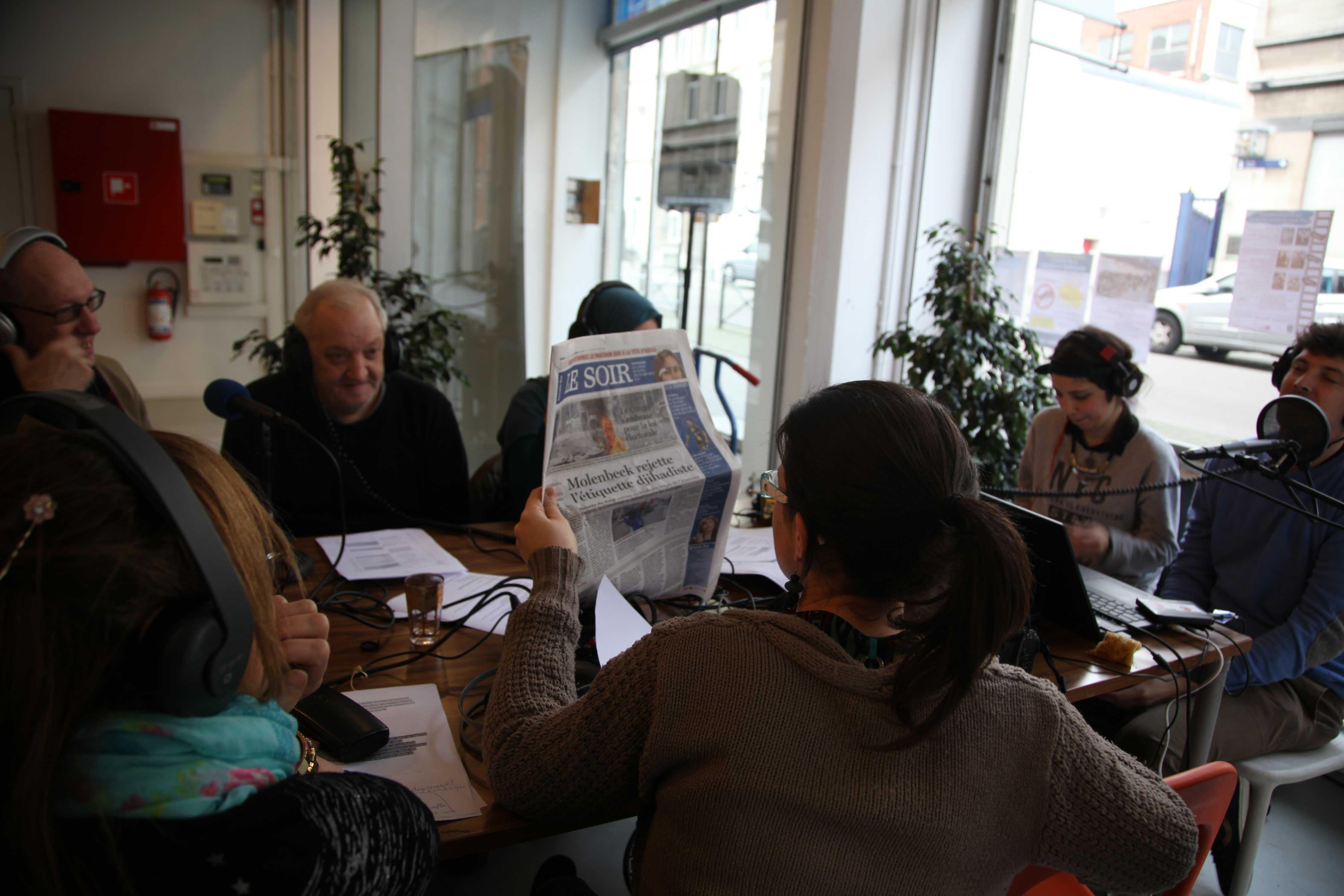 Le 17 novembre, les membres de Radio Maritime consacraient leur émission au ressenti des Molenbeekois par rapport aux attentats de Paris.