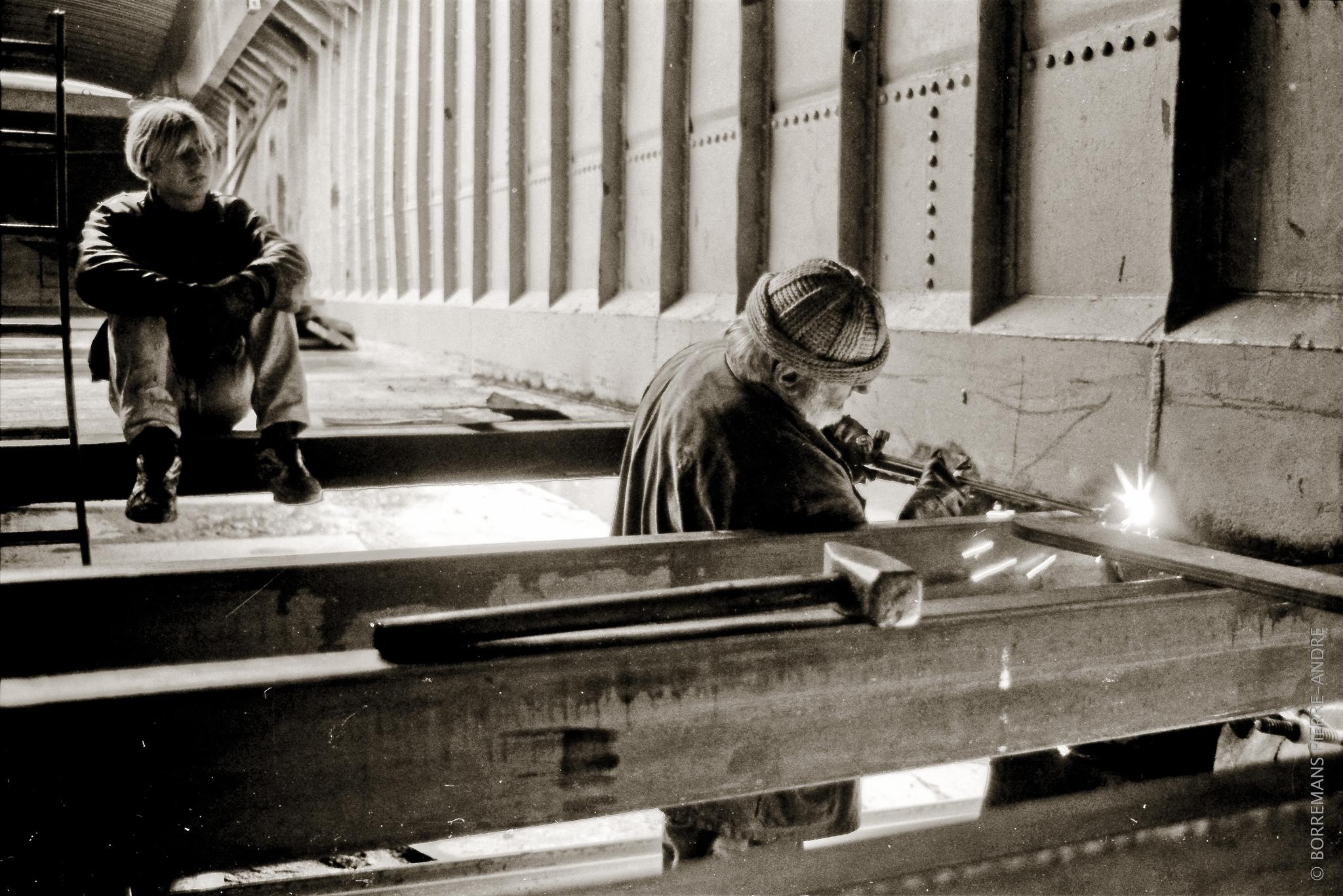 Clauses sociales (c) CC - Philippe Bo chantier naval de Thuin