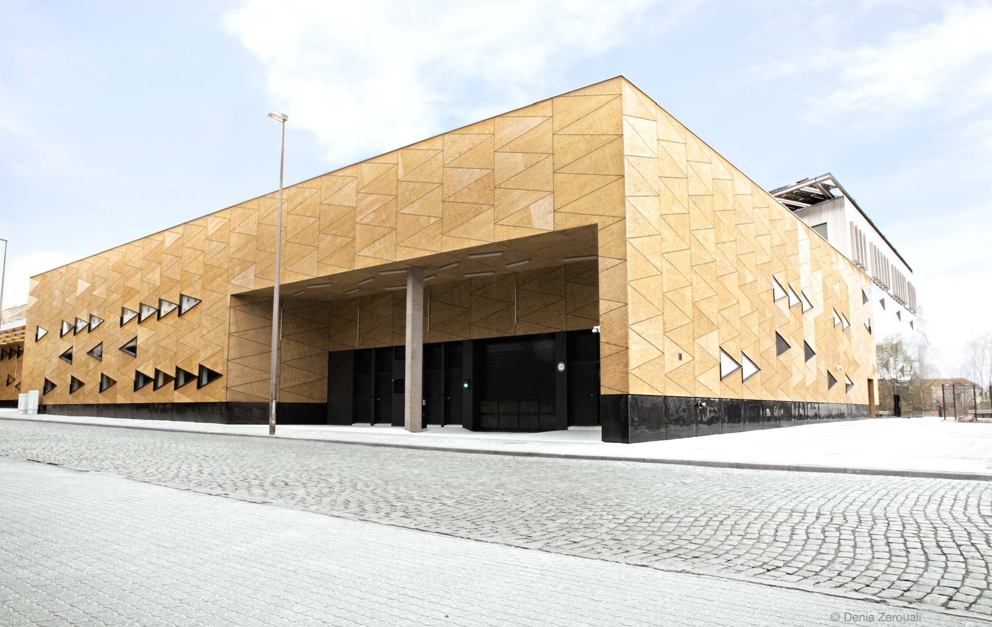 A Laeken, Greenbizz, Greenbizz. Signes particuliers? C'est le premier incubateur bruxellois à disposer d'ateliers de production.