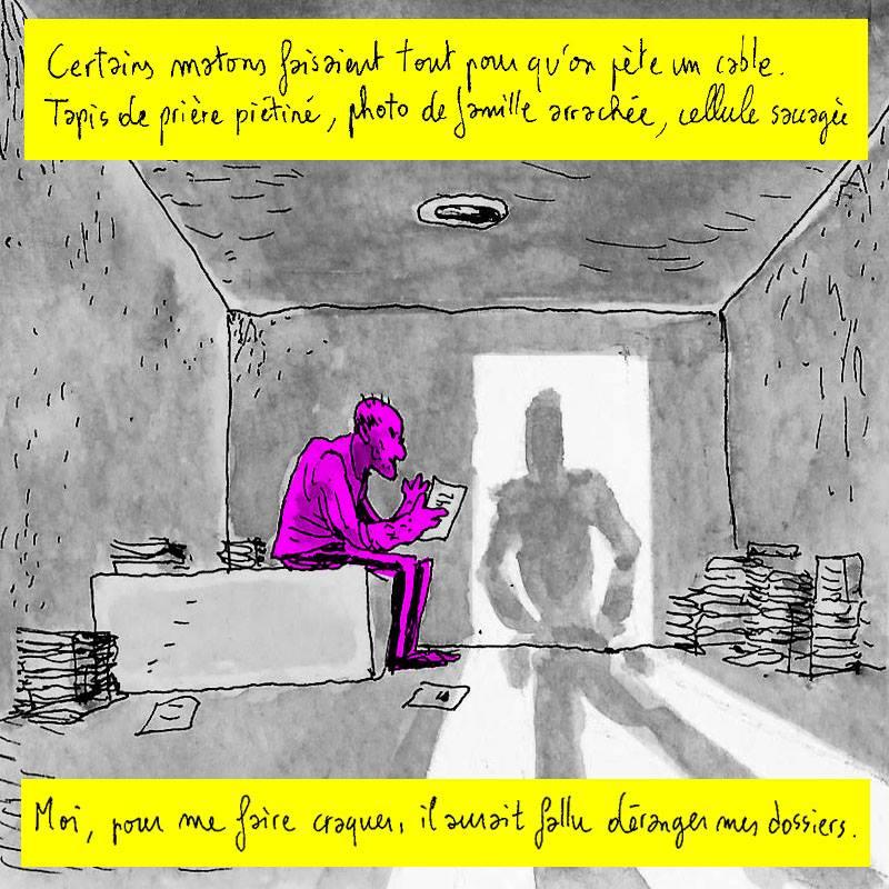 """Extrait de """"Eric, la vie après le placard"""", une bd animée réalisée Une réalisation par Louise Vignaud et Guiduch"""